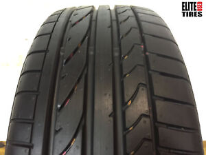 1 Bridgestone Potenza Re050a Run Flat P205 45rf17 205 45 17 Tire Full Tread 32