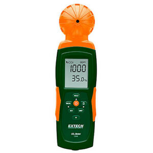 Extech Co240 Indoor Air Quality Carbon Dioxide co2 Meter