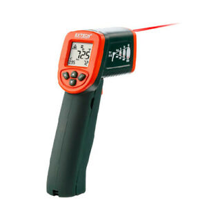 Extech Ir267 Mini Infrared Thermometer 58 To 1112f 12 1 W type K