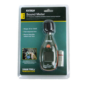 Extech Sl10 Personal Pocket Series Sound Meter