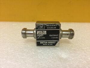 Hp Agilent 08754 60057 0 1 To 2 6 Ghz Out N f Frequency Doubler Tested