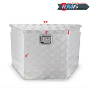 29 Aluminum Tool Box Truck Pick Up Atv Tongue Trailer Storage