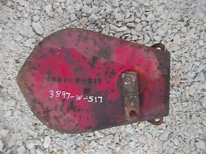 Cockshutt 30 Tractor Brake Drum Band Housing Mount Cover 3897 W 517