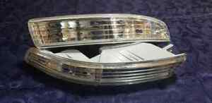 Acura Integra 94 97 Clear Bumper Parking Turn Signal Marker Lights Lamps Pair