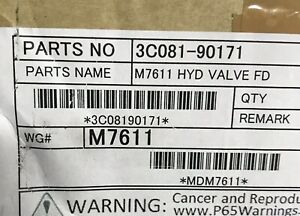 New Oem Kubota M7611 Hydraulic Valve Float Detent 3c081 90171 Genuine