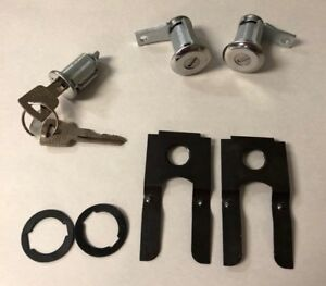 New 1961 1964 Ford Thunderbird Ignition Door Lock Set With Matching Keys