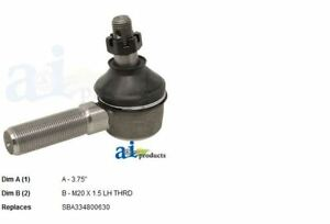 Sba334800631 Lh Outer Tie Rod End For Ford New Holland Compact Tractors