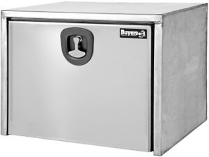 Buyers Products 18 X 18 X 18 Underbody Stainless Steel Truck Tool Boxes With Pol