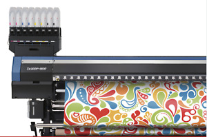 Mimaki Tx300 p 1800 Fabric Roll To Roll Textile And Dye Sub Printer