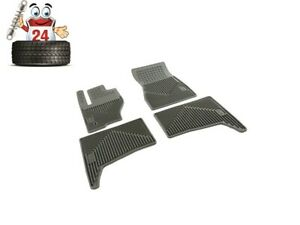 Jeep Grand Cherokee All Weather Rubber Slush Floor Mats 82209070ac 2005 2007