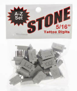 Small Animal Tattoo A z Set 5 16 Size