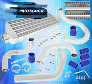 99 05 Vw Volskwagen Jetta Golf Gti 1 8l Turbo Race Intercooler Piping Kit Blue