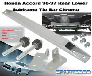 Honda Accord Cb Cd Chrome Rear Lower Tie Suspension Bar Sub Frame Bar 1990 1997