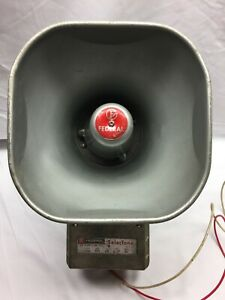 Vintage Federal Signal Selectone 300 A1 Audible Speaker Horn Tone 120v 60hz