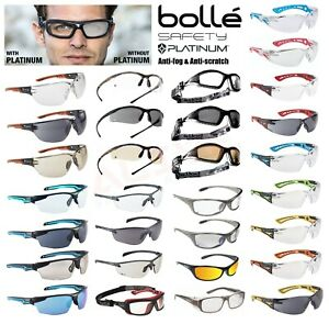 Bolle Safety Glasses Spectacles Goggles Various Types Protection Case Pouch Bag