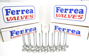 Ferrea 5000 Series Valves 1 88 Exh 2 25 Int 11 32 Stem Bbc Big Block Chevy