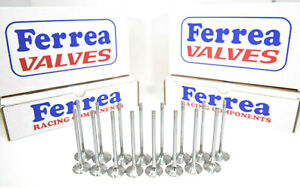 Ferrea 5000 Series Valves 1 88 Exh 2 25 Int 3 8 Stem Bbc Big Block Chevy