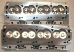 Small Block Ford 289 302 351w New Aluminum Assembled Cylinder Heads 180cc Intake