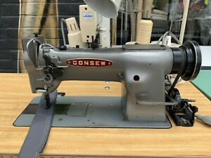 Consew 226r 1 Walking Foot Sewing Machine For Heavy Leather Canvas Vinyl