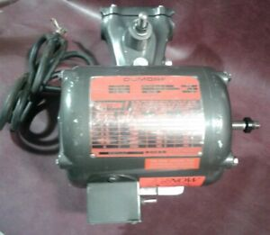 Dumore Tool Post Grinder 77 022 1 2 Hp 3450 2850 Rpm 3 Phase