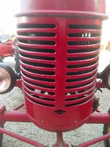 Massey Harris Pony Mh Tractor Real Nice Front Nose Cone Grill