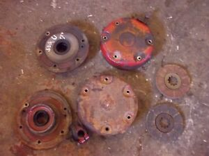 International 504 Utility Ih Tractor Pair set Of Disc Disk Brake Brakes