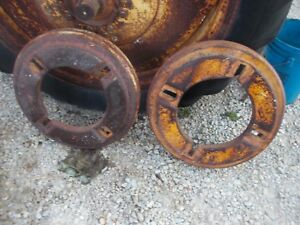 Massey Harris 101 Tractor Original Mh 145 Lb Rear Wheel Weights