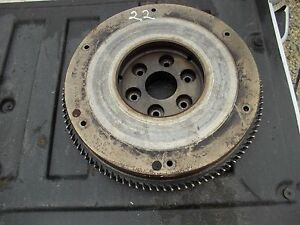 Massey Harris 22 Tractor Original Mh Engine Motor Flywheel Starter Ring Gear