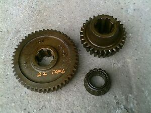 Massey Harris 22 Tractor Original Mh Transmission Top Drive Gear Gears