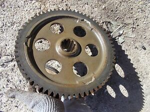 Massey Harris 33 Mh Tractor Good Working Main Transmission Drive Bowl Gear