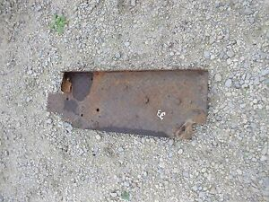 Massey Harris 33 Tractor Original Platform Step That Holds Tool Box Tray Underit