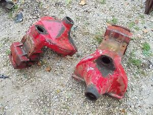 Massey Harris Pony Tractor Original Mh Rear Transmission Drop Axle Housing