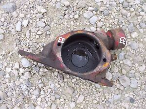 Massey Harris 33 Tractor Engine Motor Oil Fill Bracket