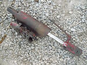 Massey Harris Pony Tractor Mh Hydraulic Hitch Lift Cylinder Top Rockshaft Arms