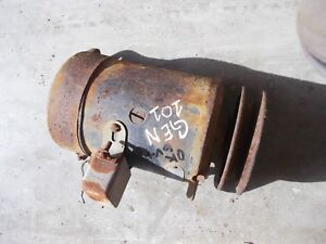 Massey Harris 101 Jr Mh Tractor Good Working 6v Generator W Belt Pulley