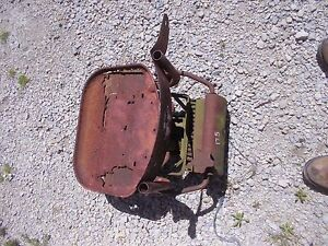 Massey Ferguson 175 Tractor Original Mf Deluxe Seat Assembly