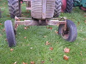 Massey Ferguson Super 90 Tractor Factory Widefront Wide Front End Hubs Rims Tire