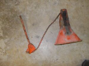 Allis Chalmers Ac Wd 45 Tractor Snap Coupler Bell Latch Bracket Chain Release