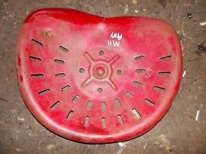 Massey Harris Pony Tractor Mh Metal Seat Pan Ready To Use