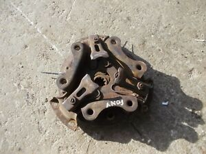 Massey Harris Pony Tractor Original Mh Engine Motor Clutch Pressure Plate