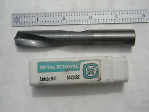 Metal Removal 3xd 5 8 Dia X 2 3 4 Loc X 4 1 4 Oal Solid Carbide Drill