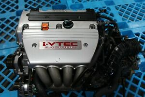 Jdm Honda K24a Type S Engine 2 4l Dohc I vtec Motor Rbb Head Accord Tsx 03 08