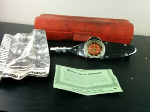 ad176 Snap On Inch Pound Torqometer Te 12a 3 8 Drive