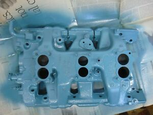 Genuine Original 1964 Pontiac Tri Power Intake Manifold Gto Tripower 389
