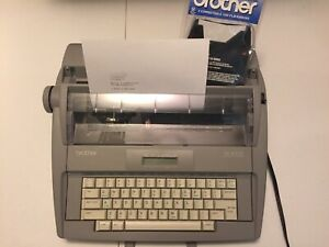 Brother Sx 4000 Daisy Wheel Typewriter With Extra Ribbons