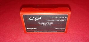 Snap On Mt25006499 Troubleshooter Asian Imports Thru 1999 Obdii Fast Track