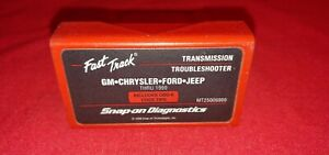 Snap On Mt25006999 Primary Cartridge Gm Chrysler Ford Jeep Thru 1999 Fast Track