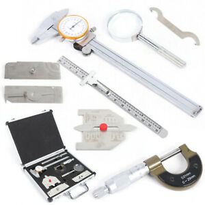 New Gage Inspection Ruler Automatic Welding Gauge Tool Kit Inch Measuring Us