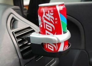 Silver Car Beverage Air Vent Bottle Can Drink Universal Cup Holder Stand Np2x