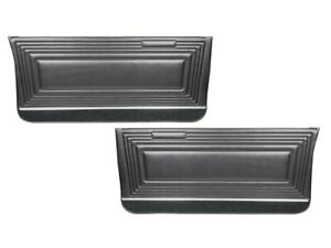1965 Gto Lemans Coupe Black Front Door Panels By Pui